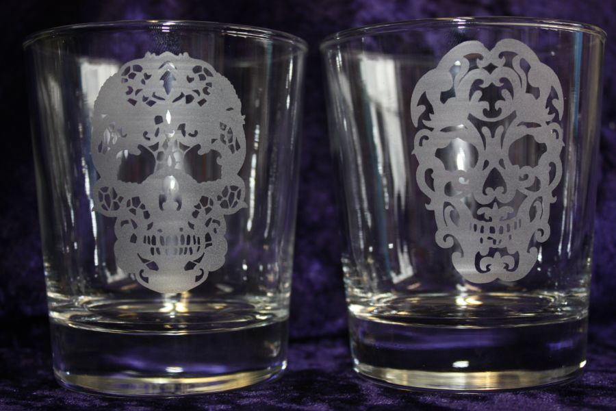 Personalised Etched Whisky Glass