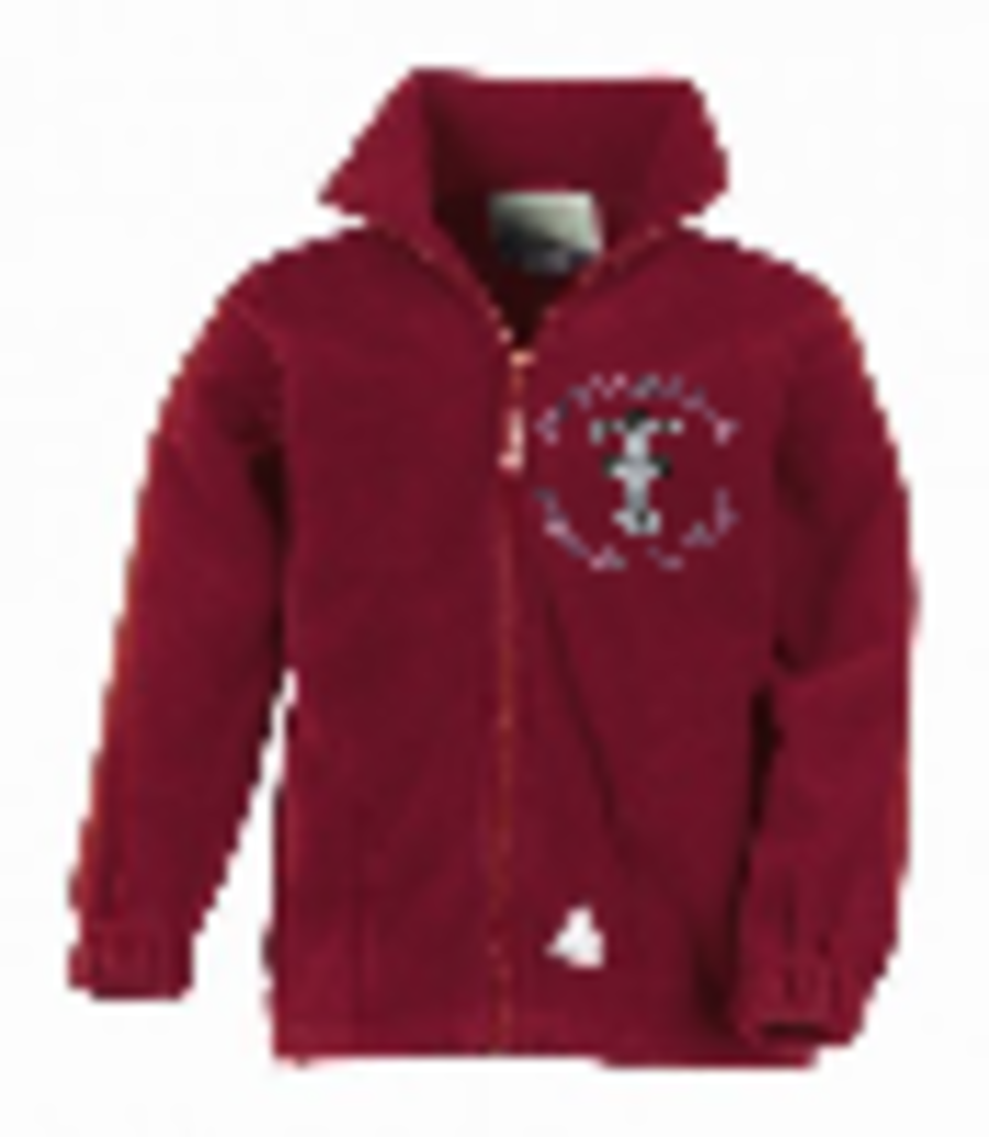 Martongate Polar Fleece ( Burgundy )