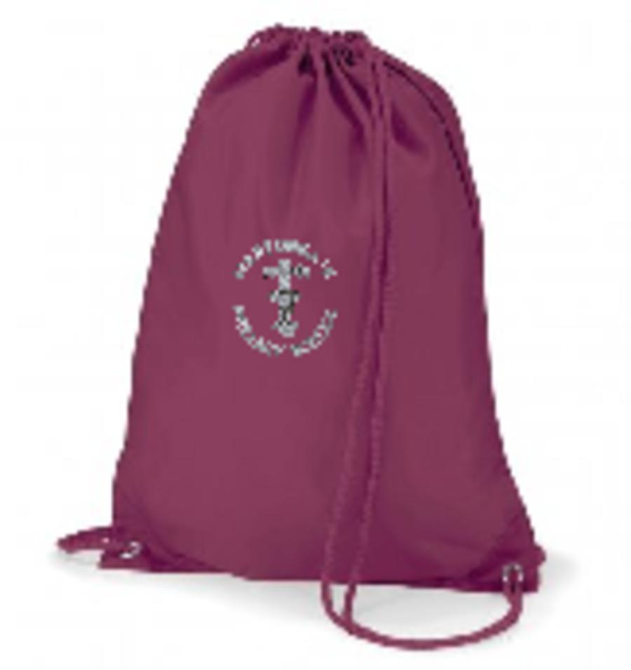 Martongate Gym Sack ( Burgundy )