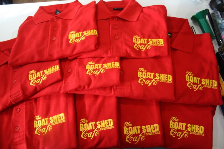 5 Embroidered Polo Shirts (Work Wear Offer)