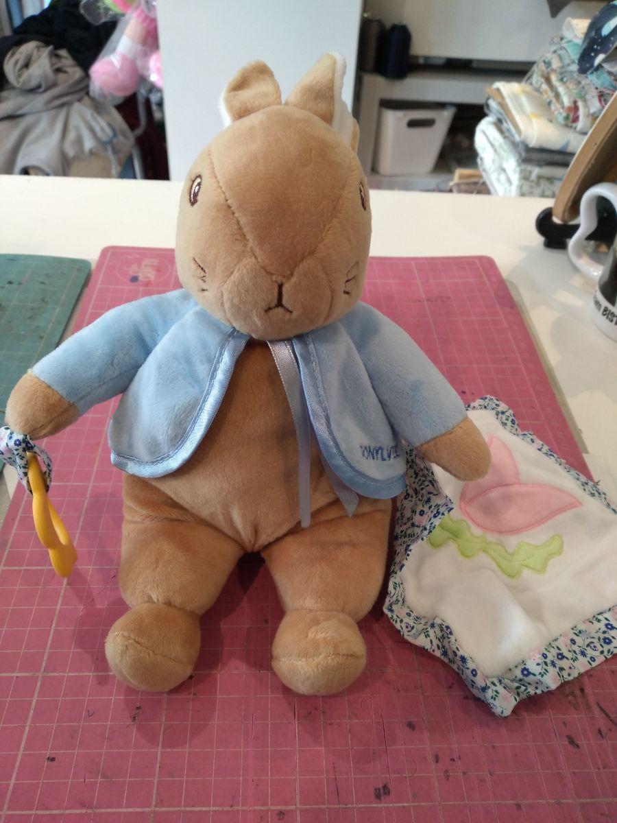 Gorgeous Rabbit Bear With Comforter/Blankie
