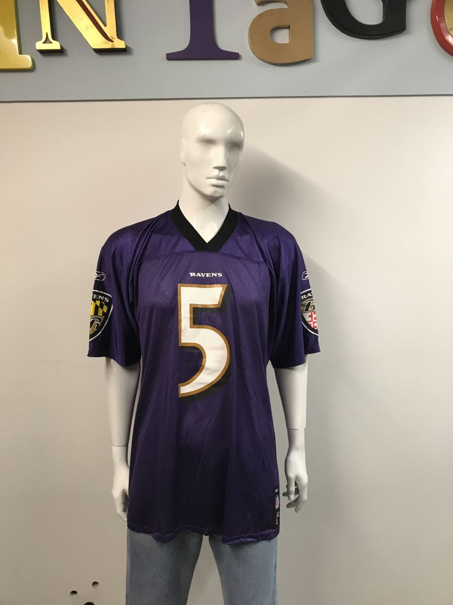 NFL Baltimore Ravens 5 Flacco jersey