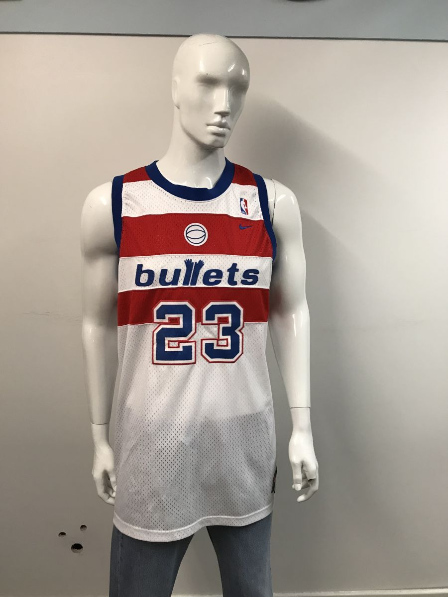 NBA Washington bullets Micheal Jordan jersey