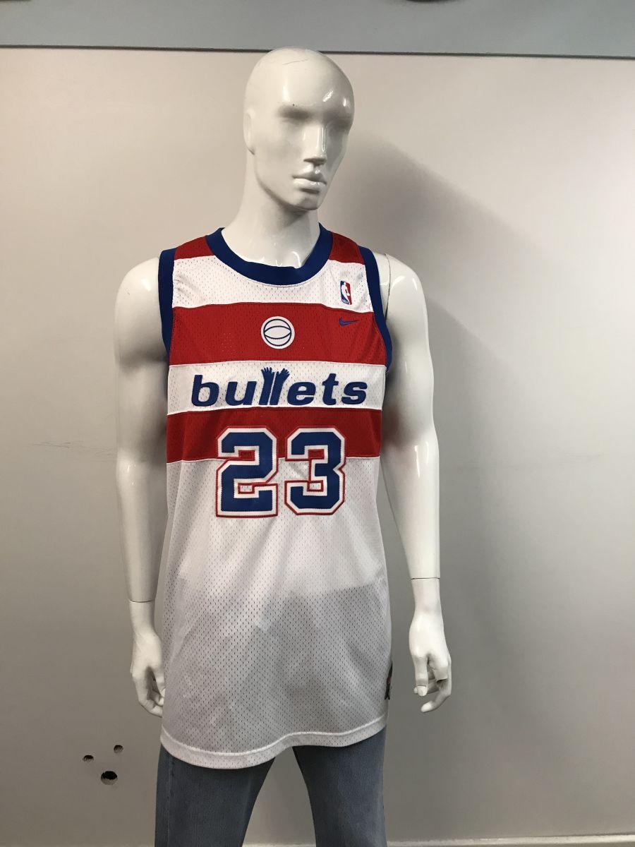 NBA Washington bullets Micheal Jordan jersey