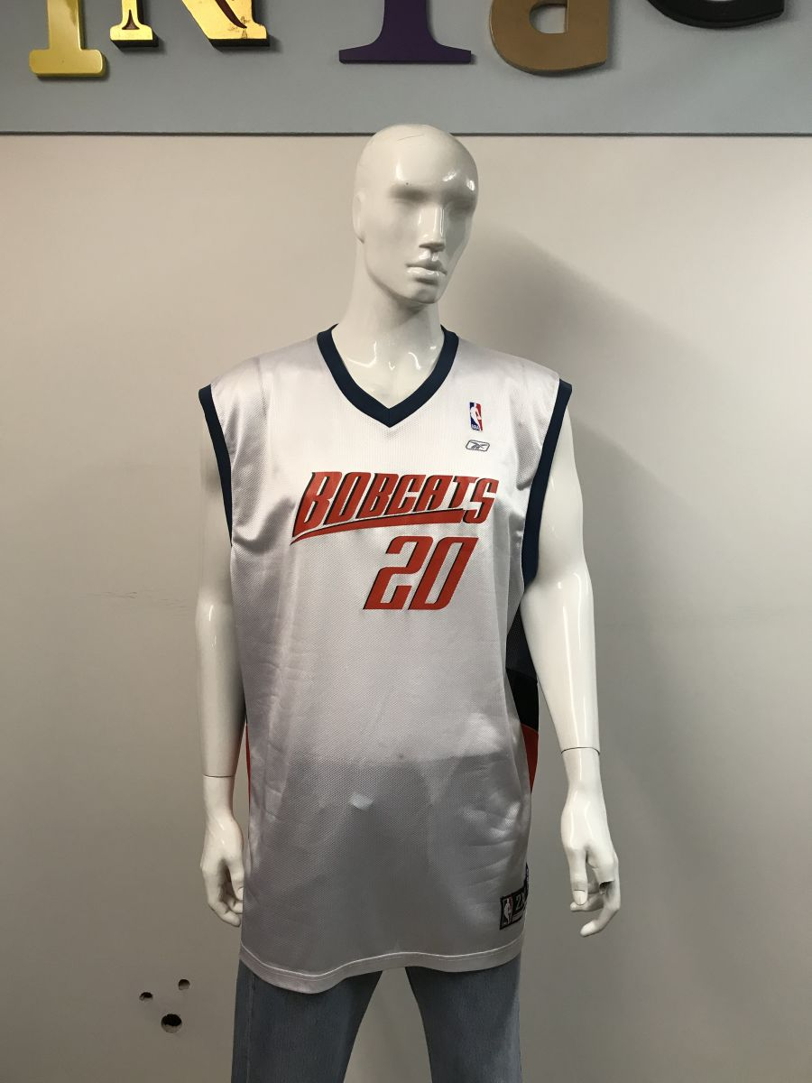 NBA Charlotte Bobcats number 20 Felton jersey