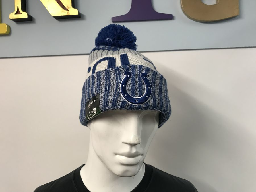NFL Indianapolis Colts knitted sideline bobble hat