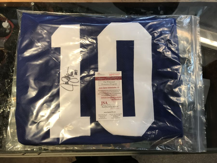 Jim Zorn Signed Seahawks Jersey