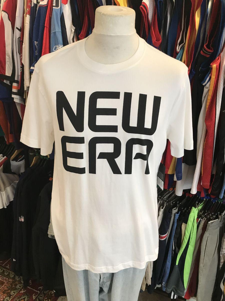 New Era stacked t-shirt