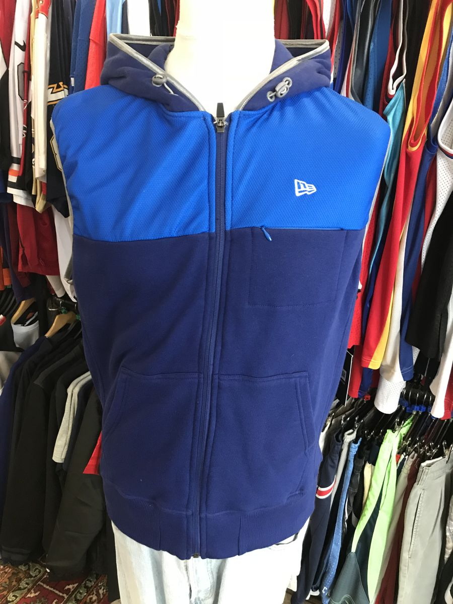 New Era sleeveless hoody