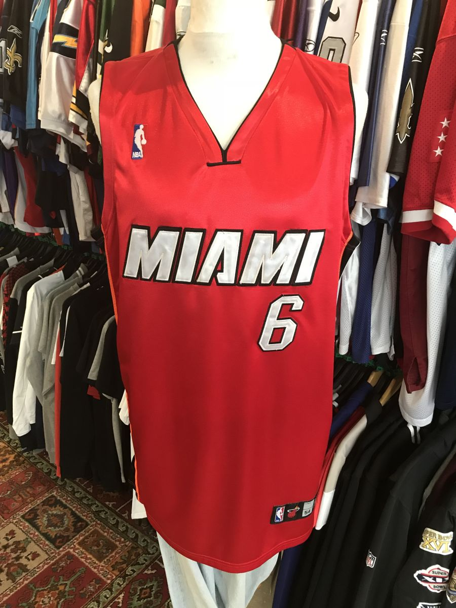 Miami Heat James jersey
