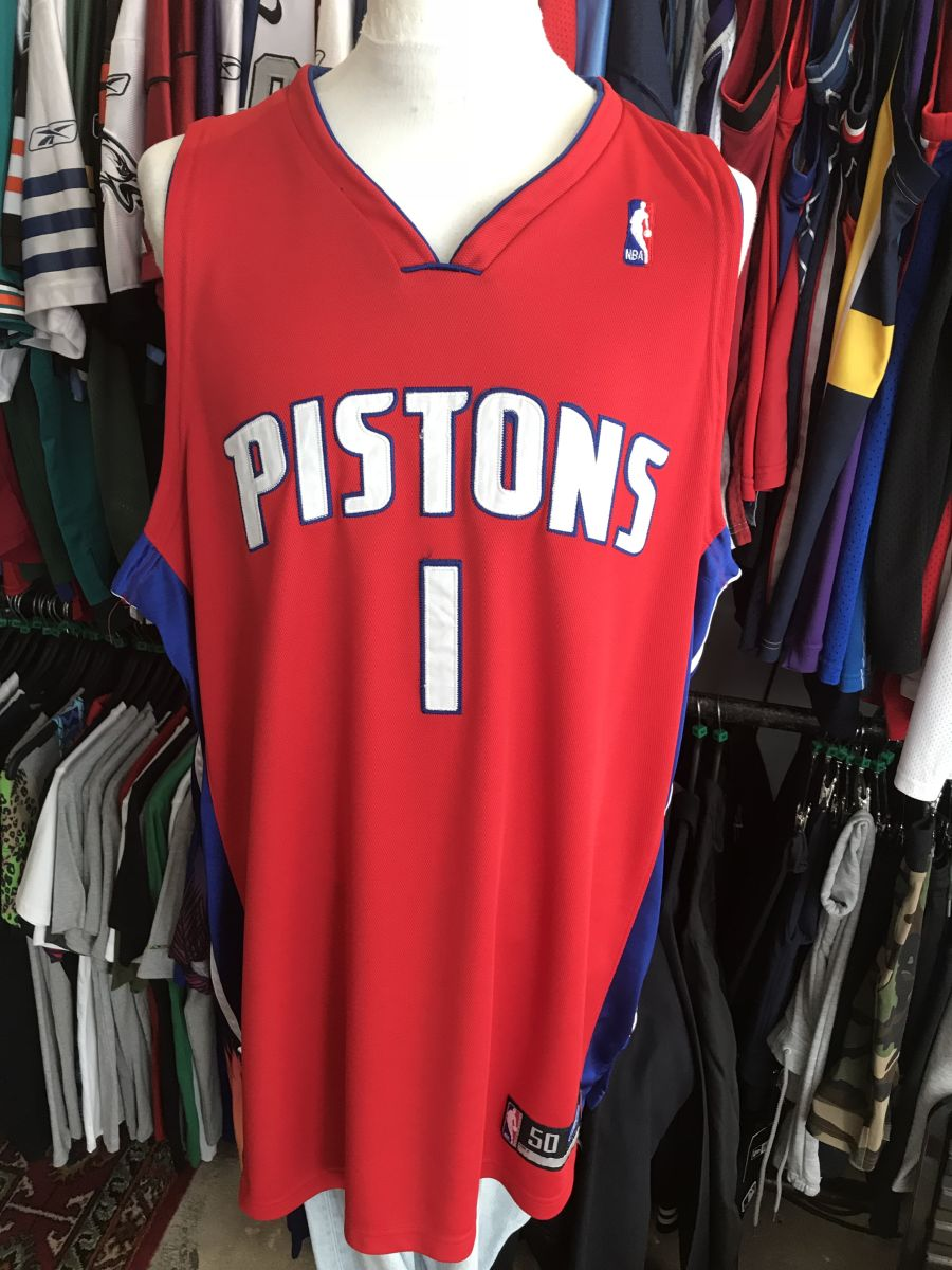 Detriot Pistons Billups jersey