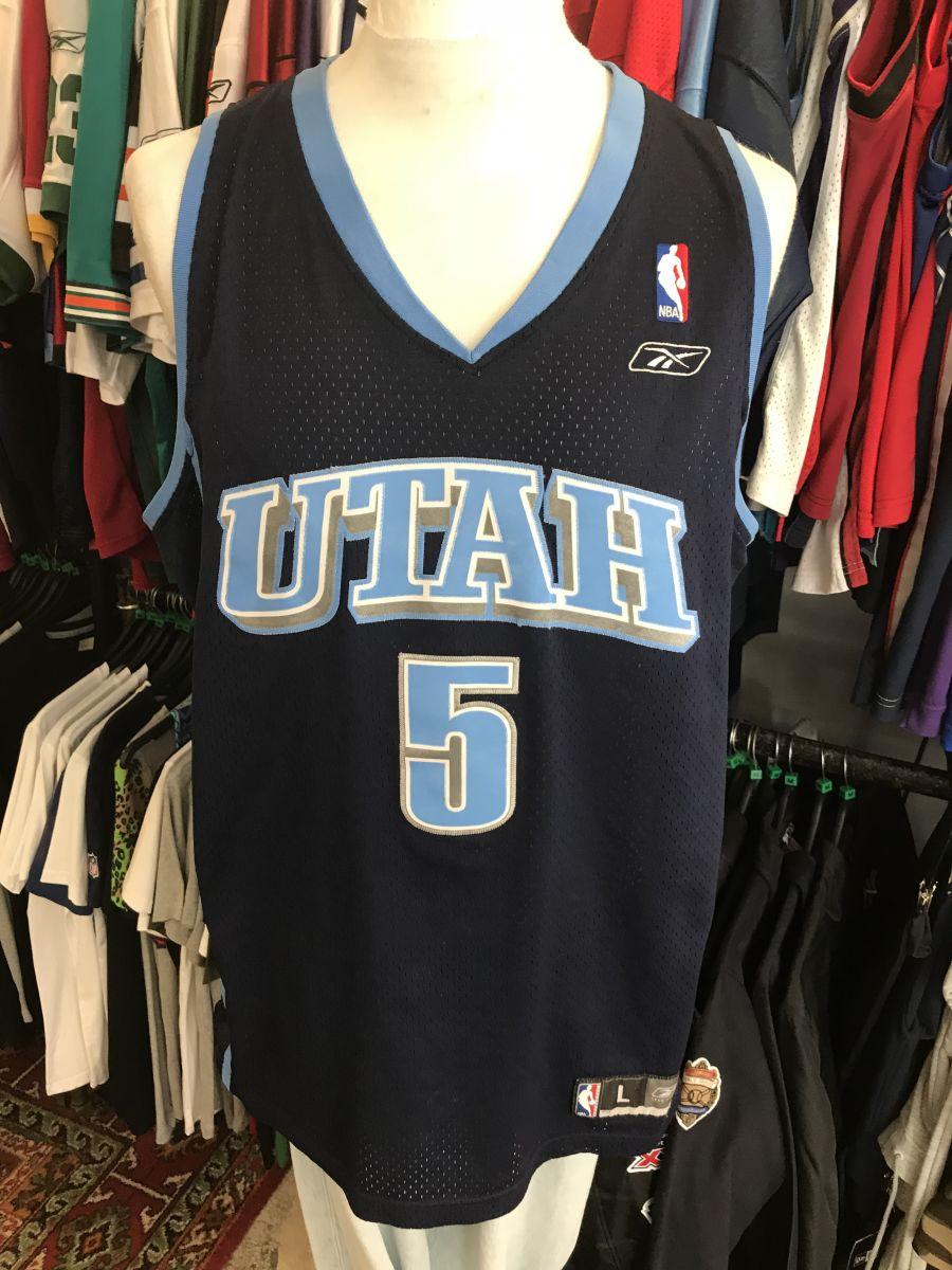 Utah Jazz Boozer jersey