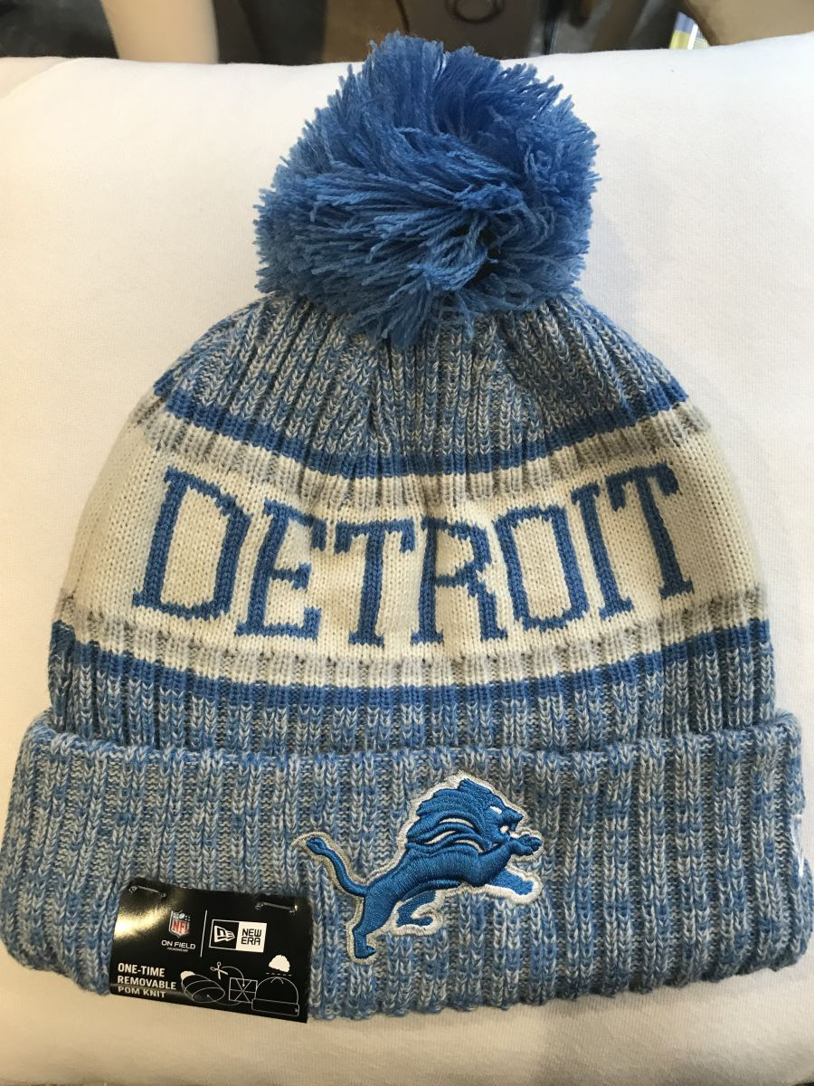 Detriot Lions sideline knit hat