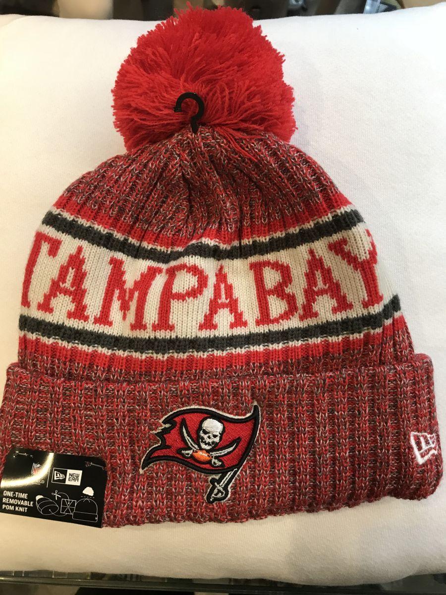 Tampa Bay Buccaneers sideline knit hat
