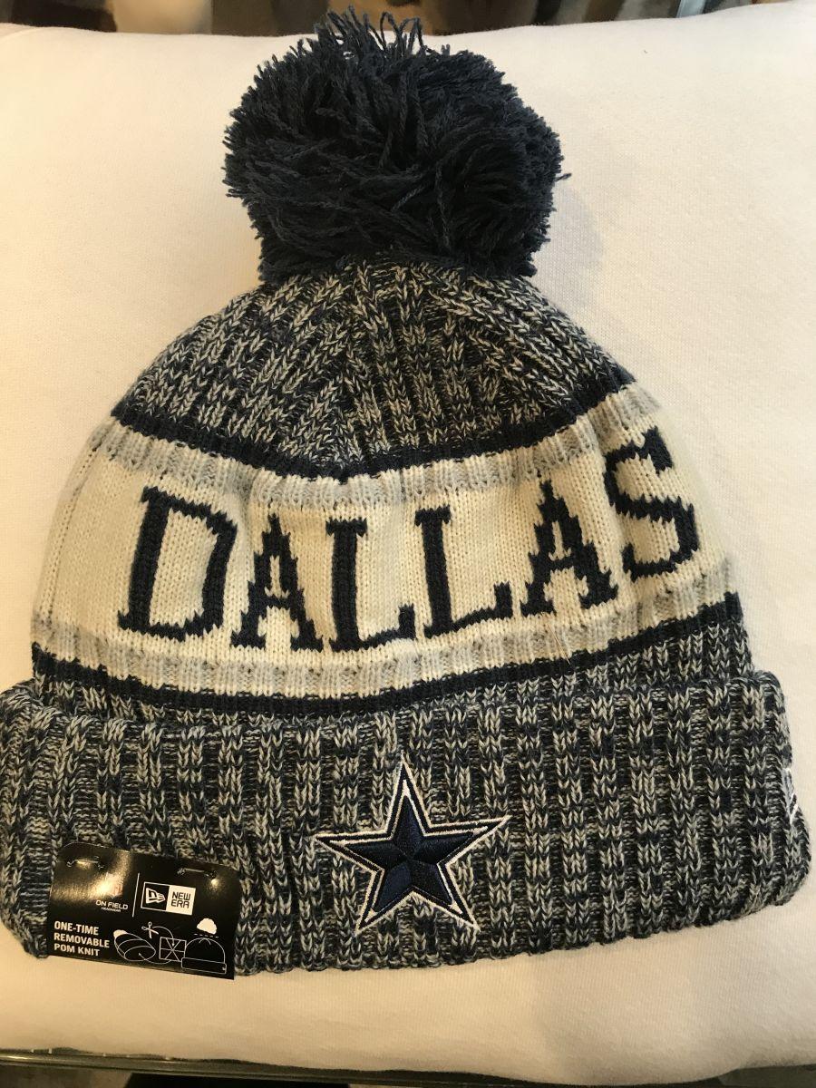Dallas Cowboys sideline knit hat