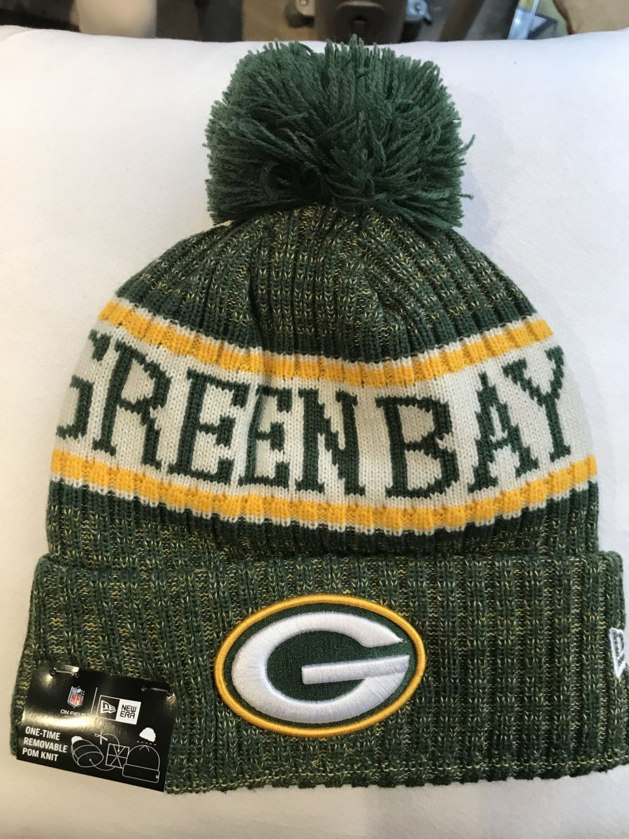 Green Bay Packers sideline knit hat