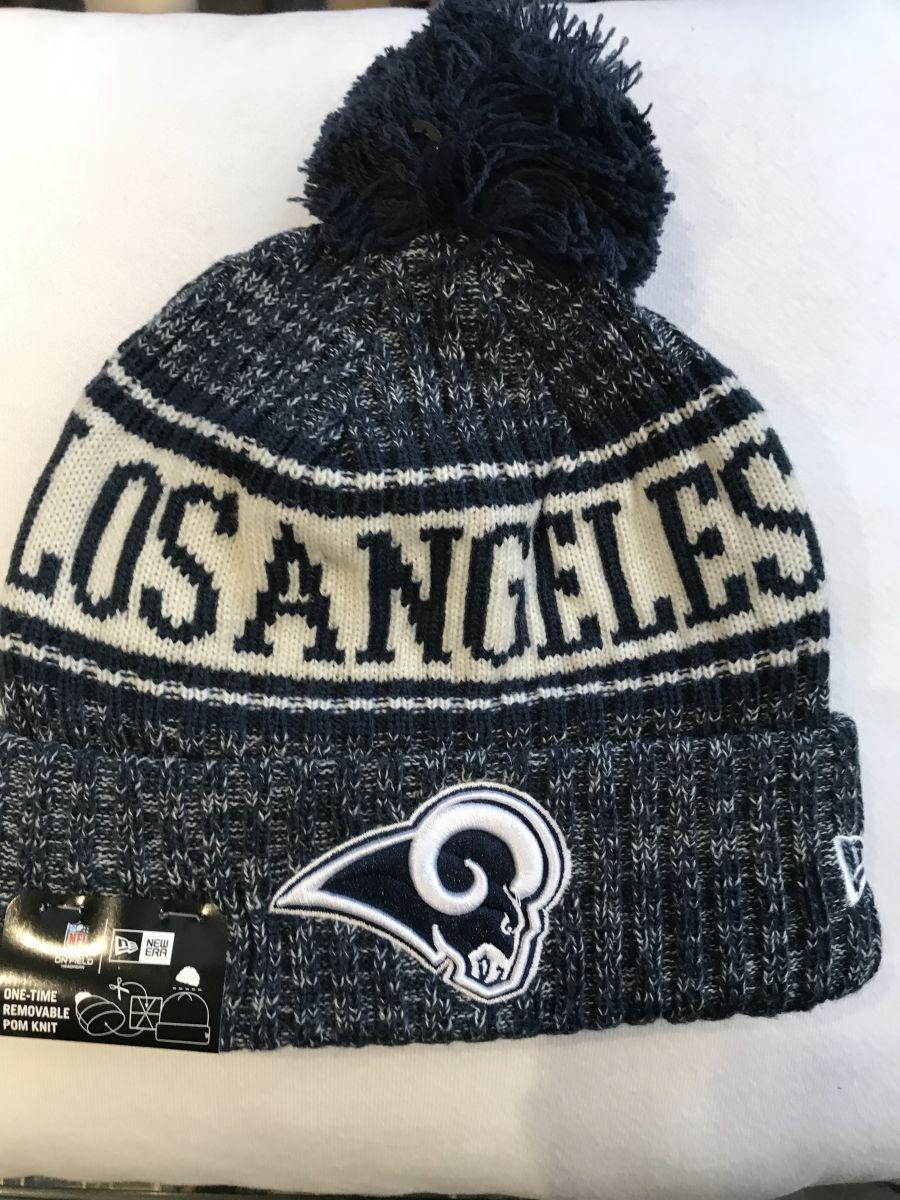 Los Angeles Rams sideline knit hat