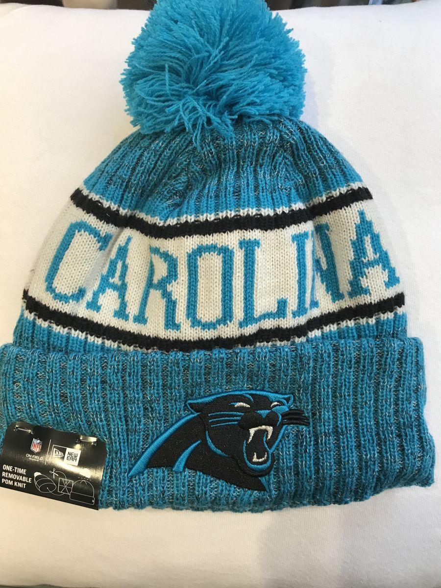 Carolina Panthers sideline knit hat