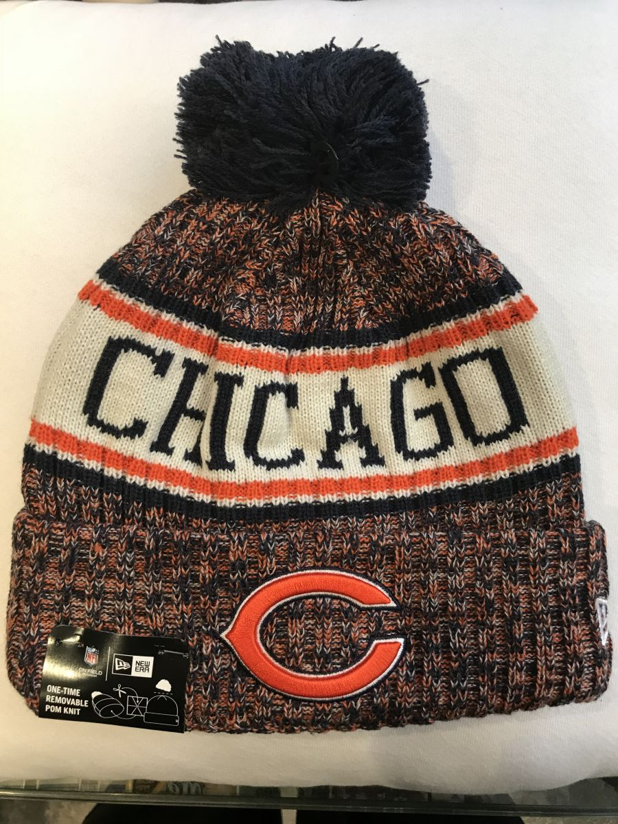 Chicago Bears sideline knit hat