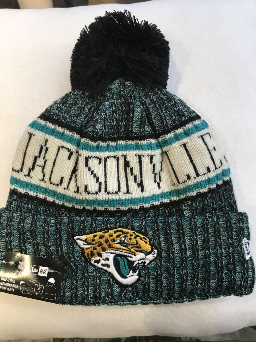 2f33ca58765 Jacksonville Jaguars sideline knit hat