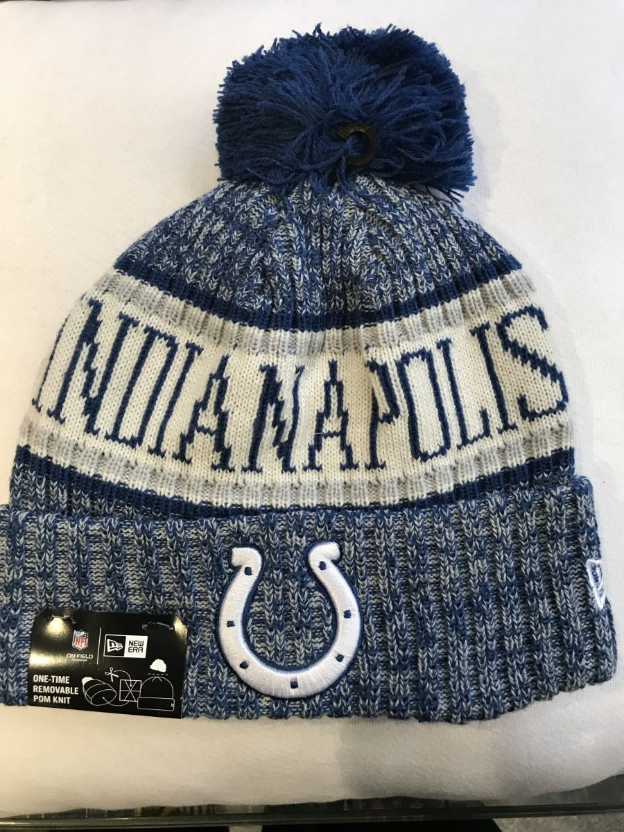 Indianapolis Colts sideline knit hat