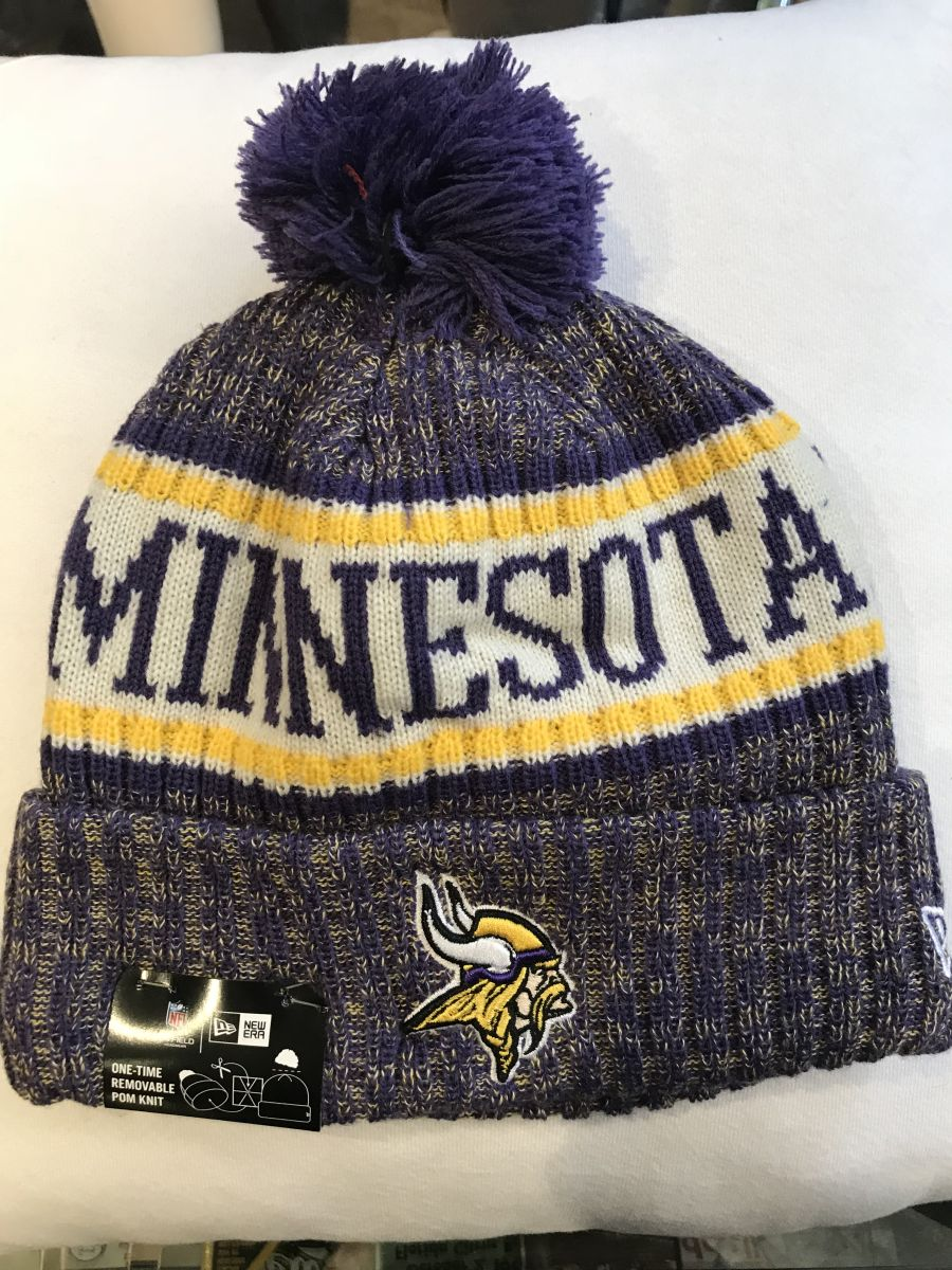 Minnesota Vikings sideline knit hat