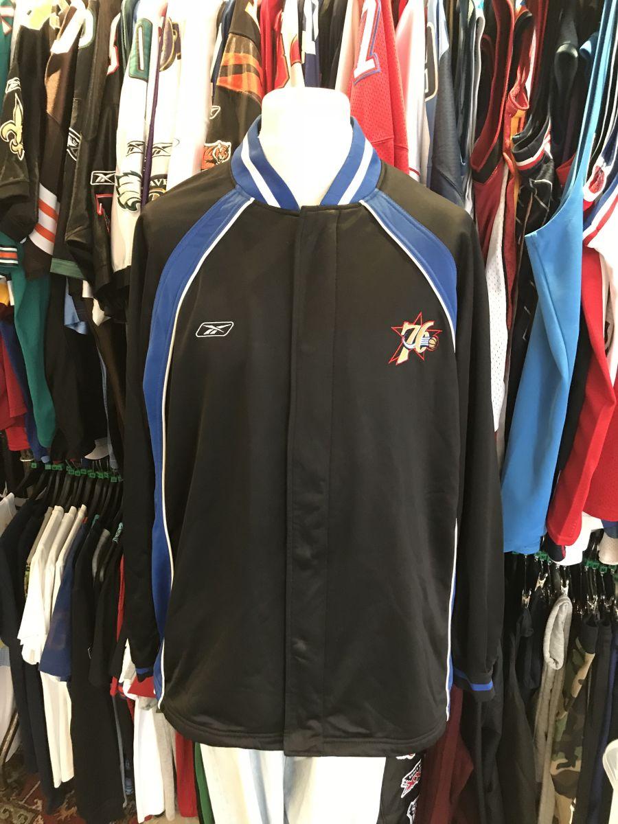 Philidelphia 76ers warm up jacket
