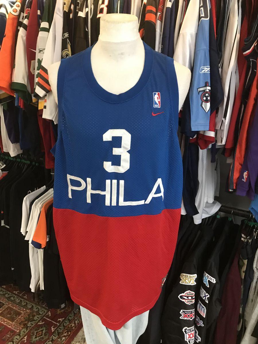 Philidelphia 76ers Iverson jersey