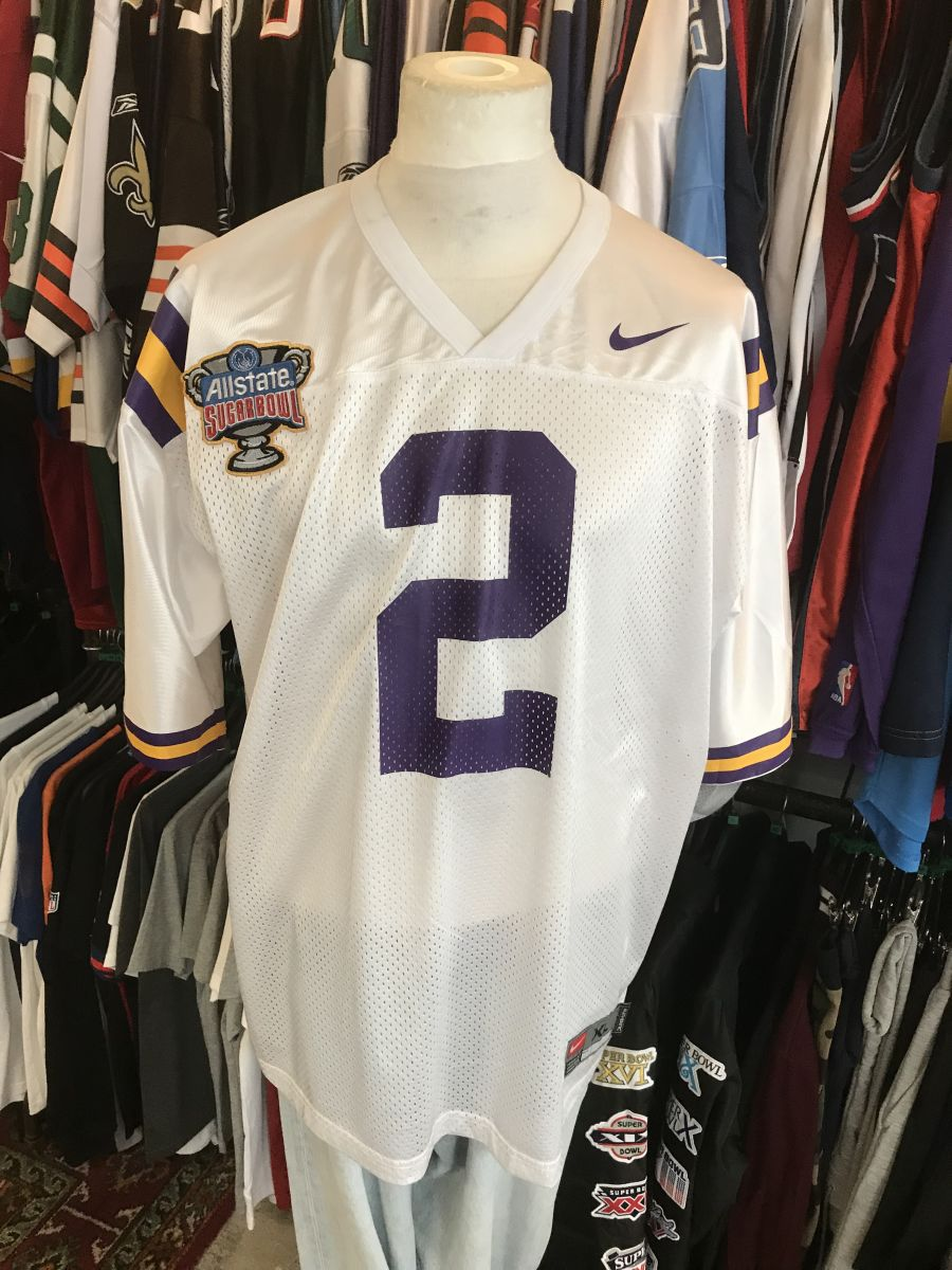 LSU Tigers Sugarbowl jersey