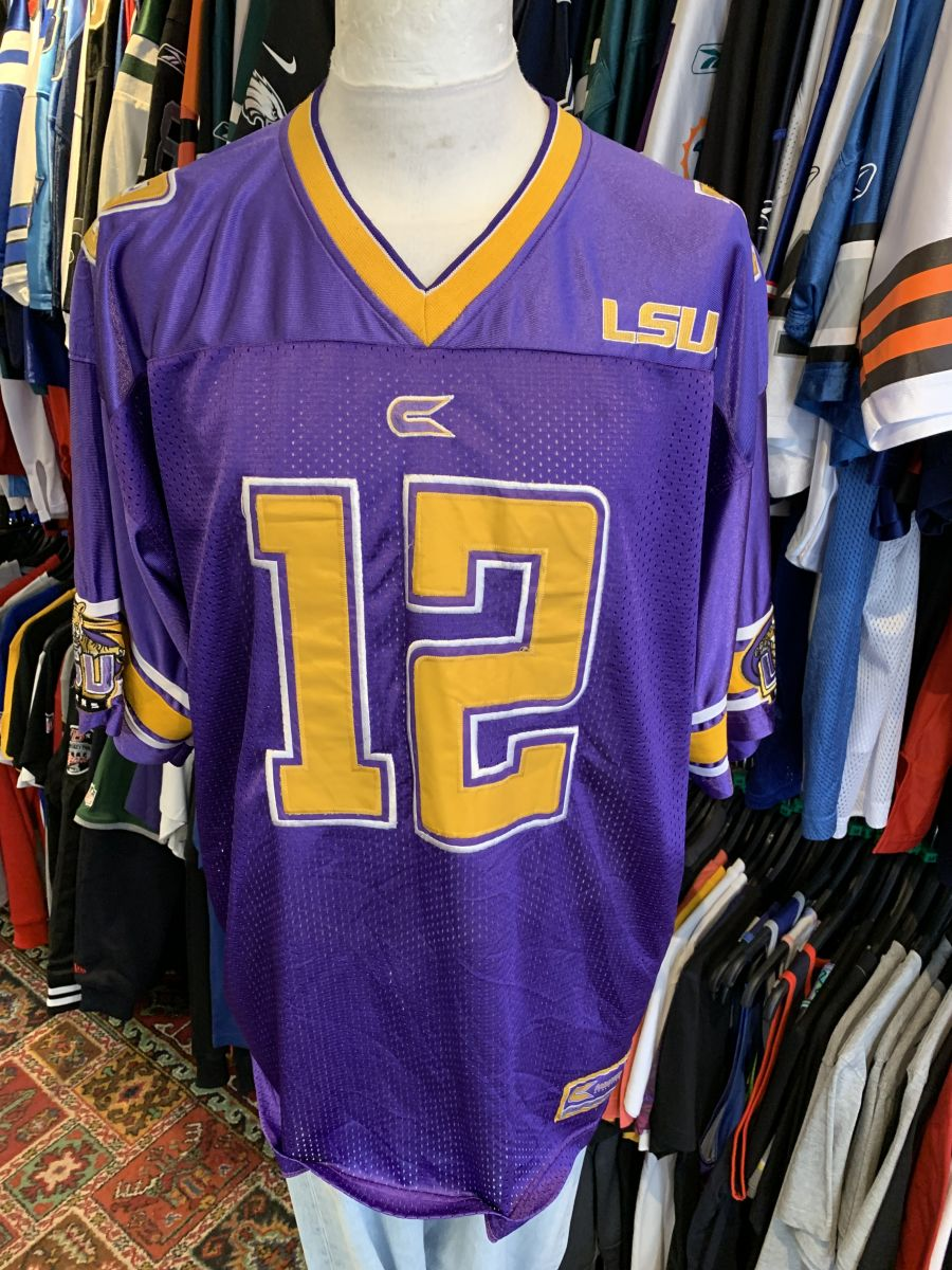 LSUstitched jersey