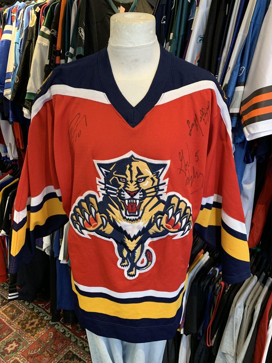 Florida Panthers signed jersey