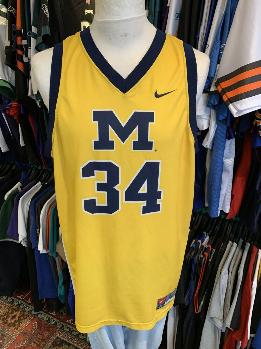 Michigan college jersey