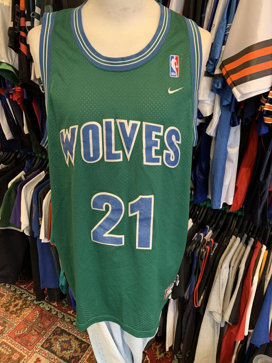 Minnesota Timberwolves Garnett jersey