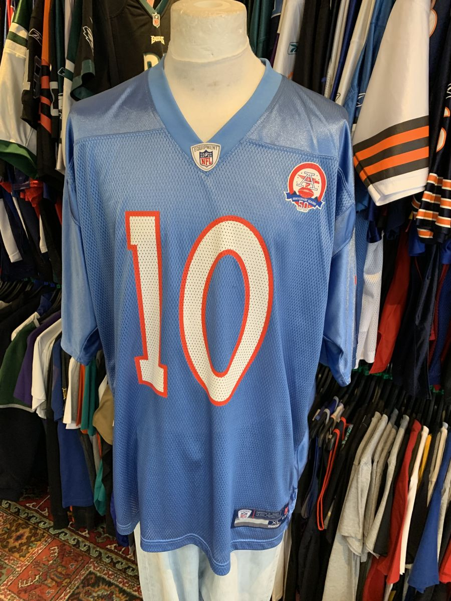 Houston Oilers 50th anniversary Young jersey