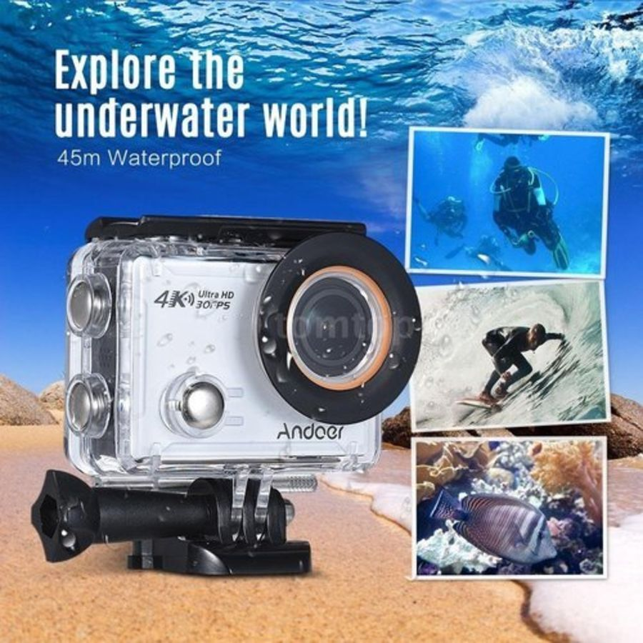 Waterproof Case Diving Sports Box Camera Accessories For SJCAM SJ4000 LON