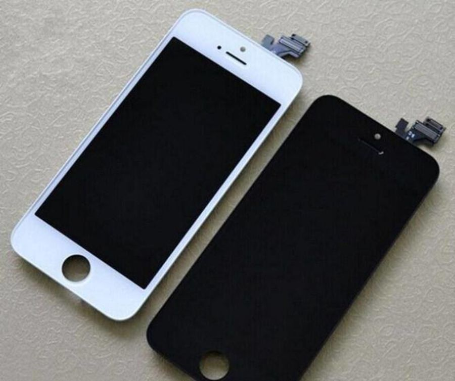 Iphone 6, 7, 8 screen glass with frame