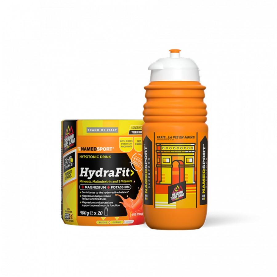 HYDRAFIT ENERGY DRINK MIX WITH HYDRA2PRO SPORTS BOTTLE