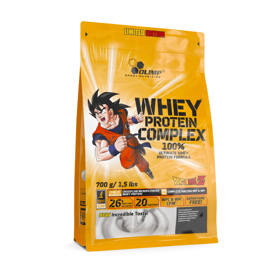 Olimp Whey Protein Complex 100 % 700G Limited Edition Dragon Ball Z