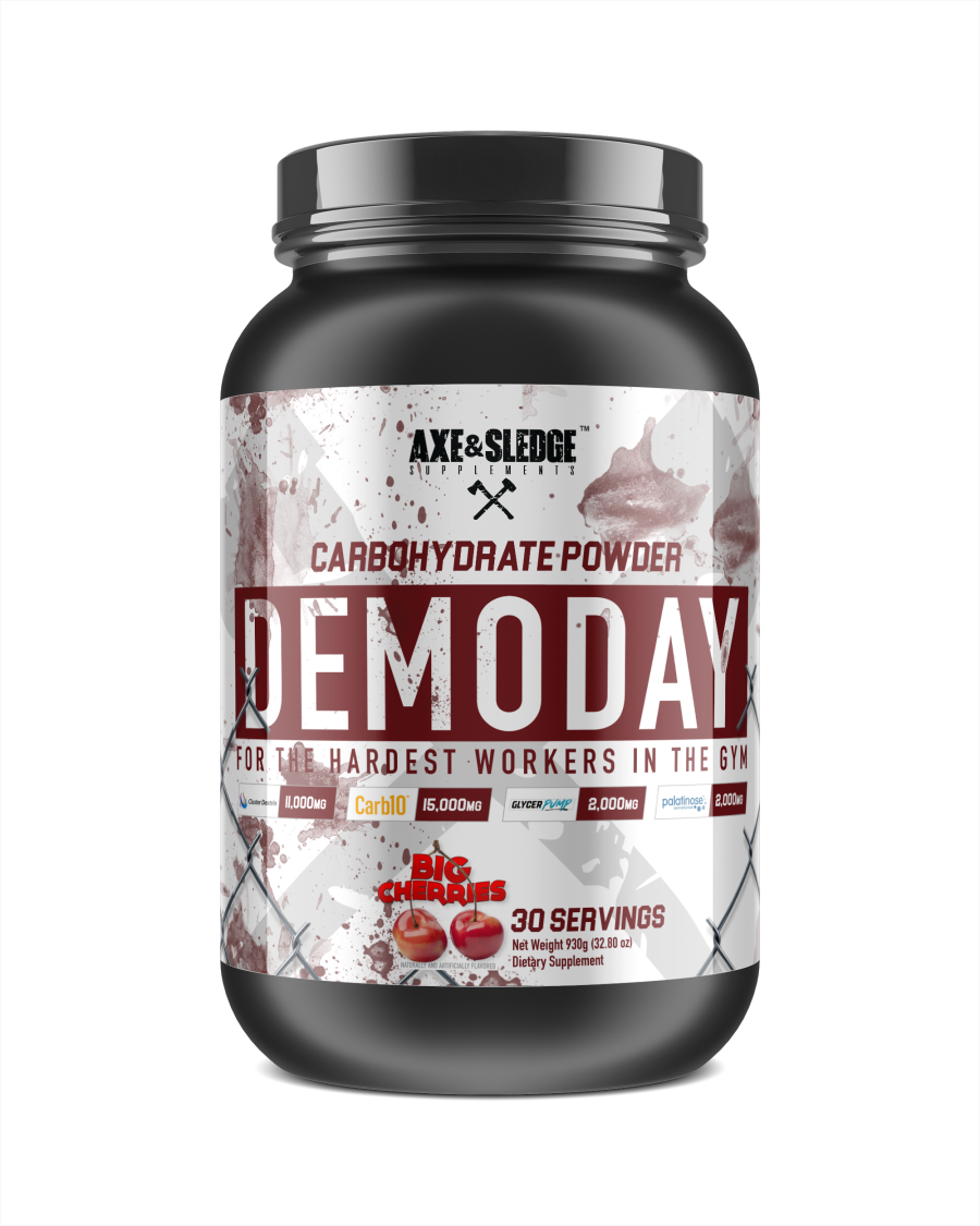 Axe & Sledge Supplements Demo Day Naked