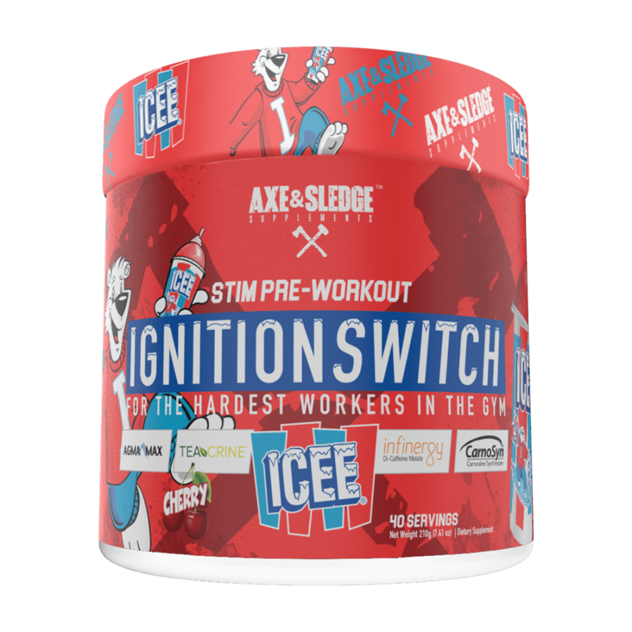 Axe & Sledge Supplements Ignition Switch 200g