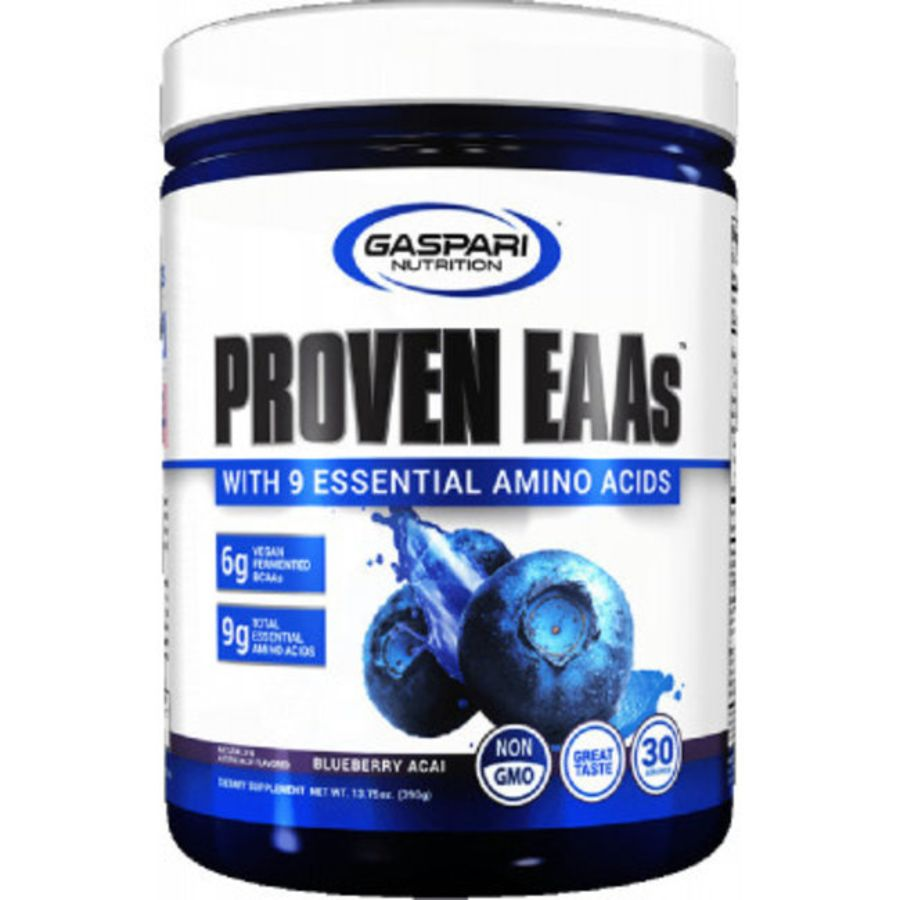 Proven EAA's with 9 Essential Amino acids