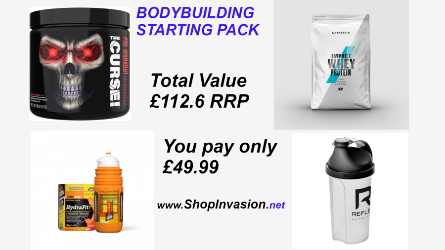 Starting Pack  Value Over £110 RRP