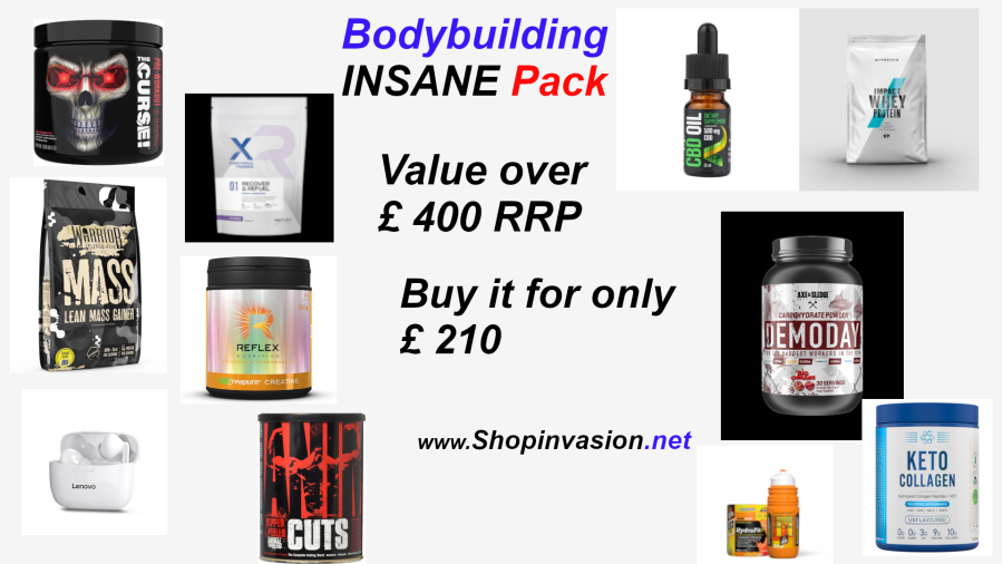 Bodybuilding Insane Pack Over £400 value