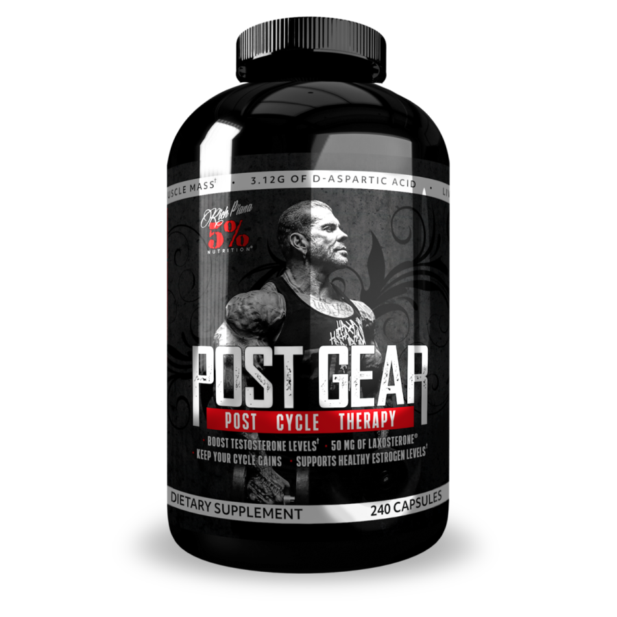 Rich Piana Post Gear 5% Nutrition 240 capsules