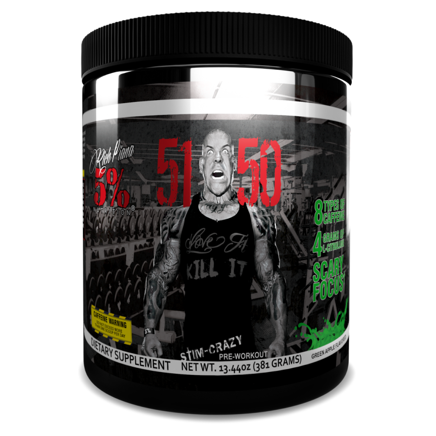 51 50 5% Nutrition High Stimulant Pre-Workout