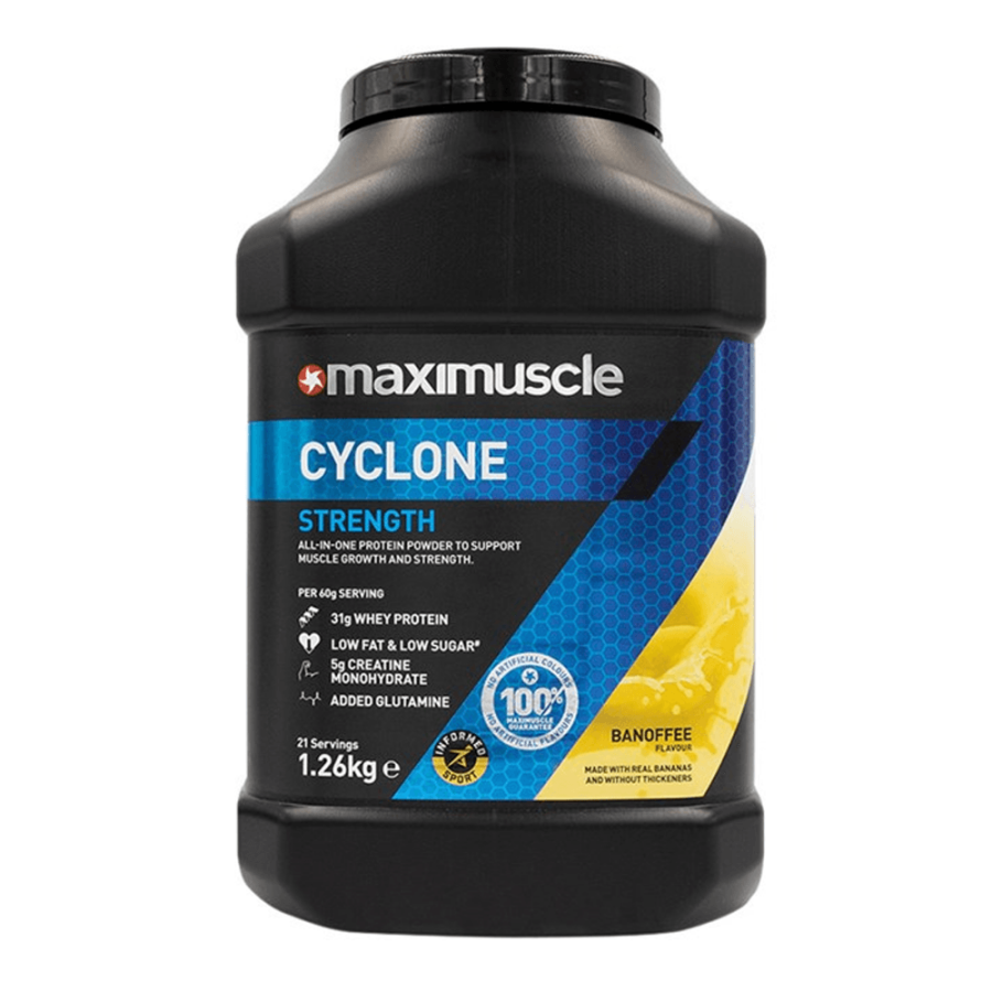 Maximuscle Cyclone High Quality Whey Protein 1.2kg Vanilla