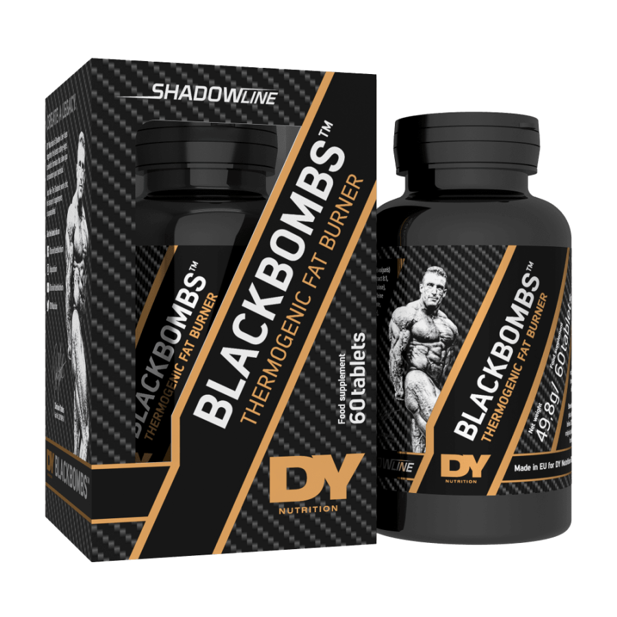 DY Nutrition Black Bombs 60 Tablets
