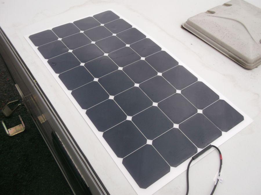 100w solar panel system