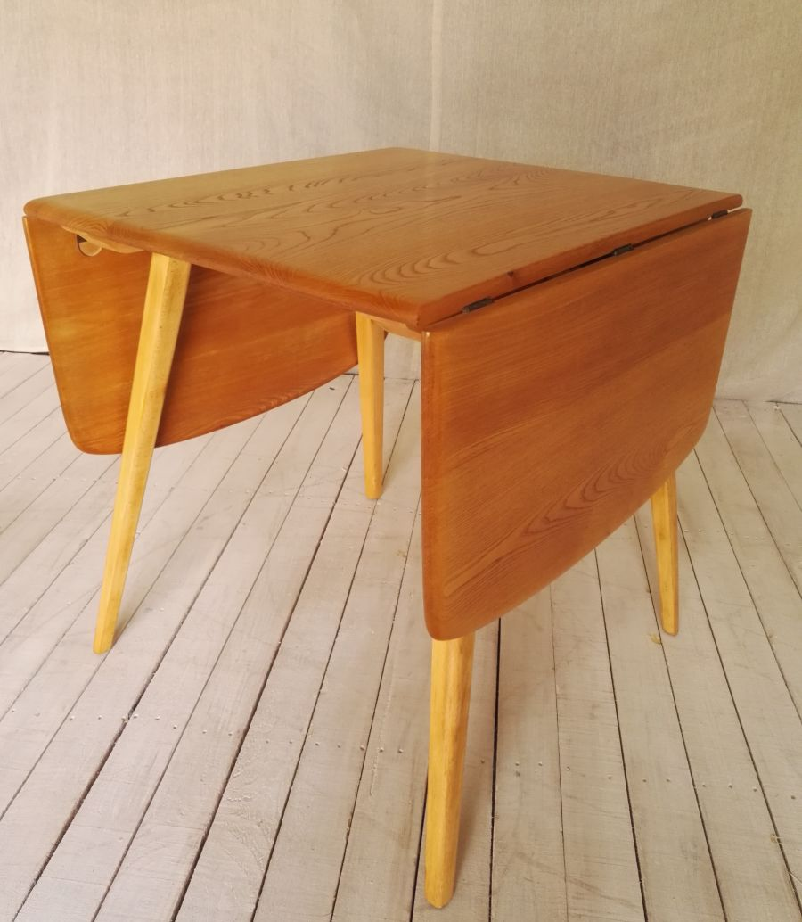 Ercol 383 elm drop leaf table