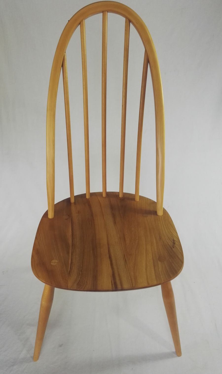 Set of 6 Ercol 365 Windsor Quaker dining chairs